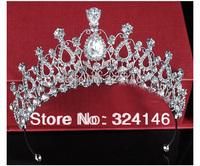 2014 New Arrival Cheap Fashion crown Nice rhinestone bridal tiara wholesale