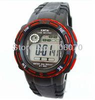 Freeshipping Luxury Brand XINTAI Silicone Men Sports Watches 2013 New Fashion Children Digital Wrist Watch On Sale Relojes
