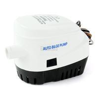 2pcs/Lot Wholesale Car Bilge pump12V Automatic Submersible Boat Bilge Water Pump 750GPH Auto With Float Switch TK1149