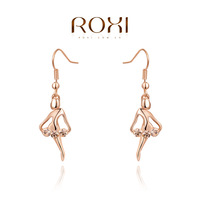 ROXI Christmas gift  Dancing girl Earrings,Gift to girlfriend, genuine Austrian crystals hand made fashion jewelry