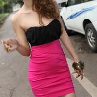 Vestido corset 2014 Vestido De Corto fiesta corset vintage summer fashion  mini saias femininas high waist corset saia