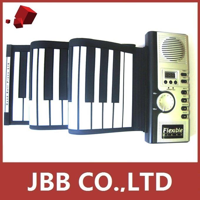 49-Key Flexible Soft Portable Electronic Keyboard Piano MIDI Digital Roll-up Gift Wholesale New Hot Sales(China (Mainland))
