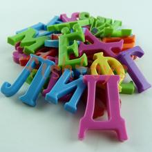 venta caliente 33 piezas 3.5cm imanes de nevera alfabeto ruso juguetes de plástico niño educación juguete envío gratis(China (Mainland))