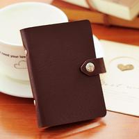 4229 free shipping fashion elegant business card holder soft vintage PU material 10 card case