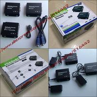 Free shipping VGA UTP Extender 1x2 Splitter with Audio 2 port output Extend VGA 300m