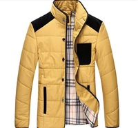 high quality 2013 winter thermal casual stand collar wadded jacket extra large plus size cotton-padded jacket size M - 8XL