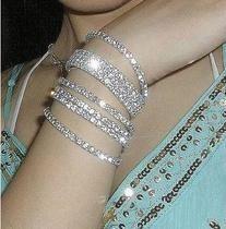 $10 (mix order) 2013 Vintage Noble Exquisite Горный хрусталь Shining Bracelet Woman ...