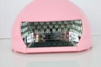 REBUNE Free Shipping Nail Tools LED Nail UV Curing Lamps Nail Dryer Gel Nail Polish Dryer 3 Timer Energy-saving