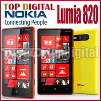 Original Nokia Lumia 820 Windows Phone 8 Dual Core 8GB Storage Unlocked Cell phone