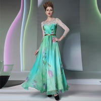 Free shipping DORISQUEEN light blue three quarter sleeve homecoming dresses 30903