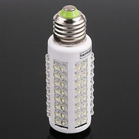 E27 220/110V Warm White 7W Ultra bright 108 LED Corn Light Bulb Lamp 360 degree Worldwide FreeShipping