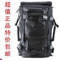 Volunteer double-shoulder backpack multifunctional backpack travel bag school bag