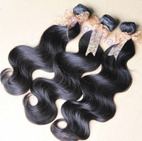 Virgin peruvian body wave 3-4 pcs/pack real unprocessed human hair