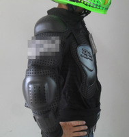 Motorcycle Bike Motocross ATV Racing Full Body Armor Jacket Off-Road Gear Black Free Shipping