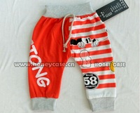 Free Shipping spring Skinny 100 Cotton Children Long Harem boys/girls Pants Legging for Kids