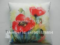 "2 pieces/lot digital print decorative pillow case 18"" free shipping"