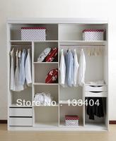 Wooden Bedroom Wardrobe (AGW-024)
