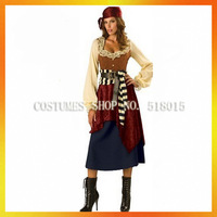 Sexy girl carnival pirate costumes for women AEWC-1551