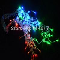 3M 96 LED Icicle string Christmas  Light Wedding Party garden Xmas Decoration 9.4ft LED Snowing curtain light