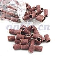 "OPHIR 100pcs 80"" Nail Drill Sanding Band Medium Coarse Nail Drill Head Grinding Tools Polishing Head # KD165"