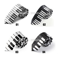 """Free shipping-2inch wide Fashionable 4 """"Piano Key"""" Patterns Mix Necktie Polyester Woven Classic Men`s Party tie Wholesale&Retail"""
