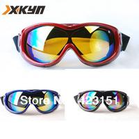100%UV snowboard Protection  skiing goggles Anti-UV snowboard goggles Glasses Eyewear Lens winter goggles,3color