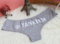 (3 piece/Lot ) VS Pink Letter Print Ropa Interior Women Panties Thong Low Rise Ladies Underwear