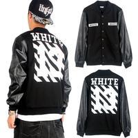 Pyrex Hoodie Jacket Baseball Uniform Man Plus Cotton PU Leather Brand Sweatshirt Jersey Coat Outdoor Fashion Sport Black hip-hop