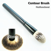 Professional Face Contour Highlighting Brush Tapered Tip Brush Powder Bronzer Blush Pointed Foundation Brush Free Shipping