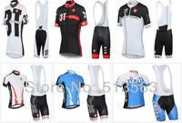 2014 Newest  castelli 6 models pro jersey/pro bib shorts summer rock racing cycling jersey bicycle/bike/riding/cycling clothing
