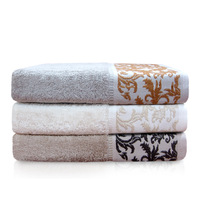 Free Shipping 100% Egyptian Cotton Bath Towel for Adults Whoesale,Soft Hotel Towels Bathroom 140 70 Floral Design Towel Face