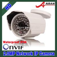 ANRAN Security Waterproof 2.0 MegaPixel 1080P Full HD 1920x1080 25fps Network IP Camera Outdoor 48 IR Camera Onvif AR-408GW-IP