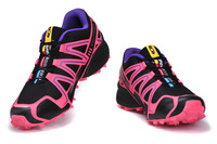 Promotion!2014 new brand Salomon shoes speedcross women's sports running shoes for woman EUR36-41
