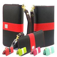 Colorful Purse Wallet Leather Case Cover For iPhone 5 5C 5S 6 Nexus Samsung Galaxy S4 S5 HTC One X Xiaomi Mi3 Mi4 Lenovo P780