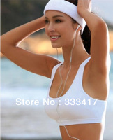 Women Sports Wireless Bra Ms. Seamless Bra Zero Bound Fiber Wicking Bra Vest Bra 4 Colors