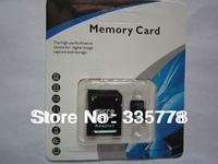 Wholesale -64GB 32GB 16GB Micro Sd Memory Card  MicroSD SDHC TF Cards  Class 10 With  Adapter 10PCS/lot free shipping