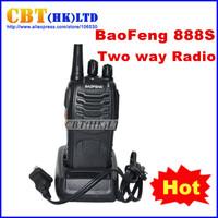 2013 HOT WalkieTalkie BaoFeng 888s BF-888S UHF 400-470MHz Interphone Transceiver  Two-Way Radio Handled Intercom free shipping