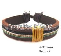 best seller fashion new arrival handmade woven leather bracelet for men and women KL0005