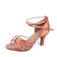 Gorgeous Women's Ladies Charm Latin 2 Color Tango Ballroom Salsa Heeled Dance Shoes Dancing Shoes CRNVLATIN 228  5cm Heel High