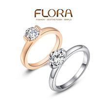 ROXI Christmas gift Swiss CZ diamond rings,top quality beautiful, 100% hand made fashion jewelry,2010003185