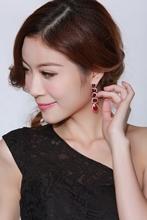 New Arrivals Women Deluxe Styles Big Earrings AAA Cubic Zirconia Earrings Lead Free Marriage Anniversary Gifts