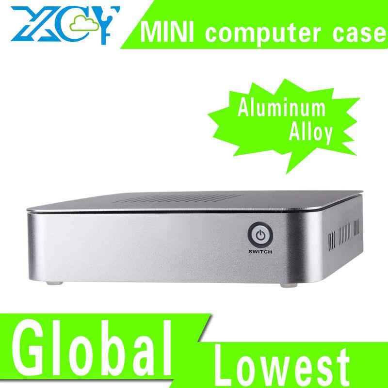 X25X aluminum small computer case i3 pc case desktop computer case mini itx Support Linux OS Ubuntu(China (Mainland))