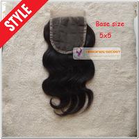 5x5 lace closure brazilian body wave human hair virgin remy closure swiss lace hair brazilian body wave closures