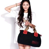 Eshow Large Canvas Women Travel Bags Women Handbag Tote bag Shoulder Bags BFK010351
