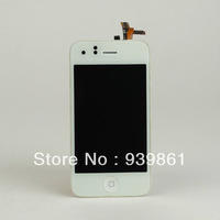 Touch Screen Digitizer + LCD+Home botton Assembly - White (AT&T GSM Model) For Apple iPhone 3GS