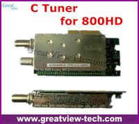 Original high quliaty wholesales DVB-C cable C tuner for sunray 800hd 800 hd DM800 newdvb 800HD-C 800-C cable receiver box