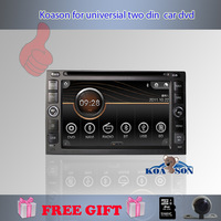 Free shipping and camera as gifts!Koason 6.2'' 2 din car dvd gps with build in digital TV DVB-T MPEG 2