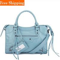 Fashion Vintage Small Medium Women Motorcycle Bag Mini Top Quality Luxury 2014 Handbags Pu Leather Messenger Bag Rivet Tassel