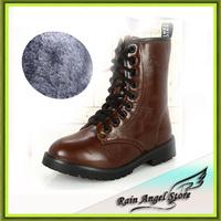 2014 Fashion Fur Winter Warm Children's Snow Boots Shoes Velvet Boots Boy Child De Neve Botas 21-36size
