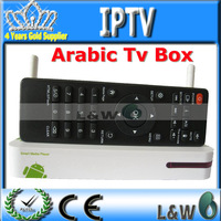2pcs/lot android arabic IPTV Q8 iptv Arabic can be as Network Router DDR1GB support DLNA 4K1080P and 3D Arabic TV BOX